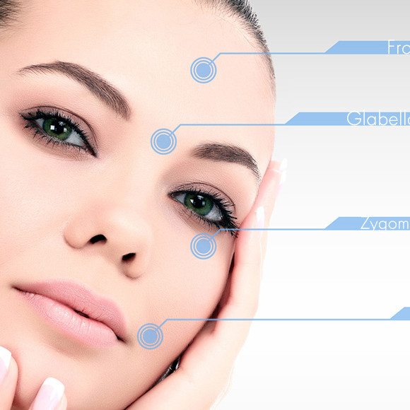 botox facial points to learn